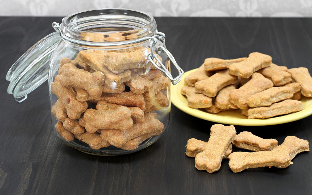 Recipes: DIY Pumpkin Dog Biscuits