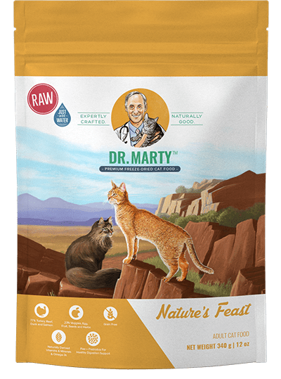 Natures Feast | Dr Marty Cat Food